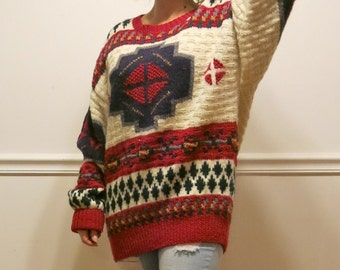 Vintage Oversize Wool Sweater