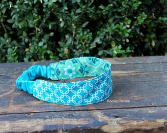 Reversible Headband, Reversible Fabric Headbands, Ladies Headband, Girls Headband, Birthday Gift, Baby Shower Gift, Headband