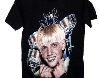 90's Vintage Nick Carter Backstreet Boys Shirt Size  M