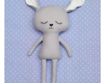 Slleping Rabbit Soft Toy