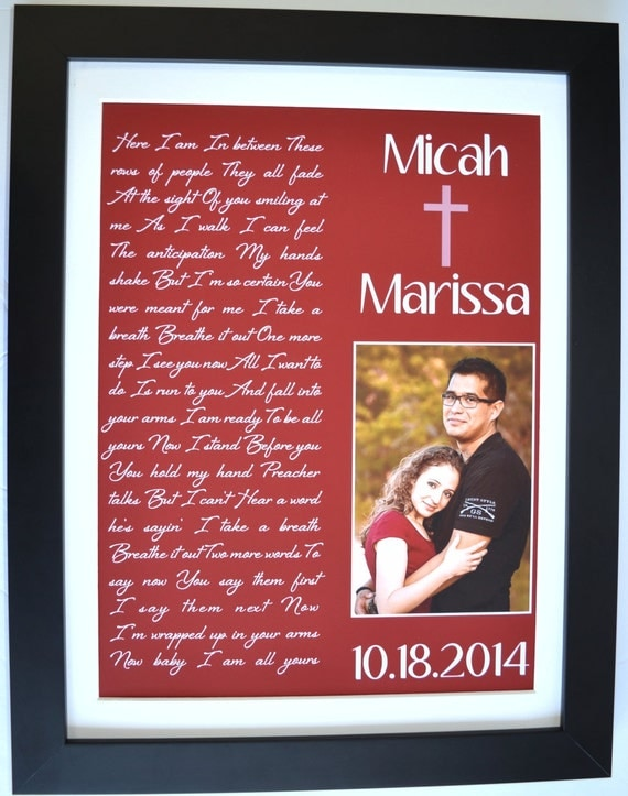 St first wedding anniversary gift for him her by