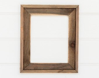 "8x10  2""   2 piece Barnwood Frame"