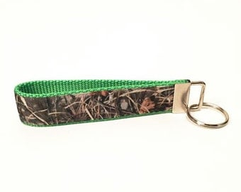 Real Camo Personalized Key Fob