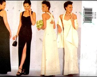 Butterick 6463  Misses' Dress & Stole Size (6-10)  UNCUT