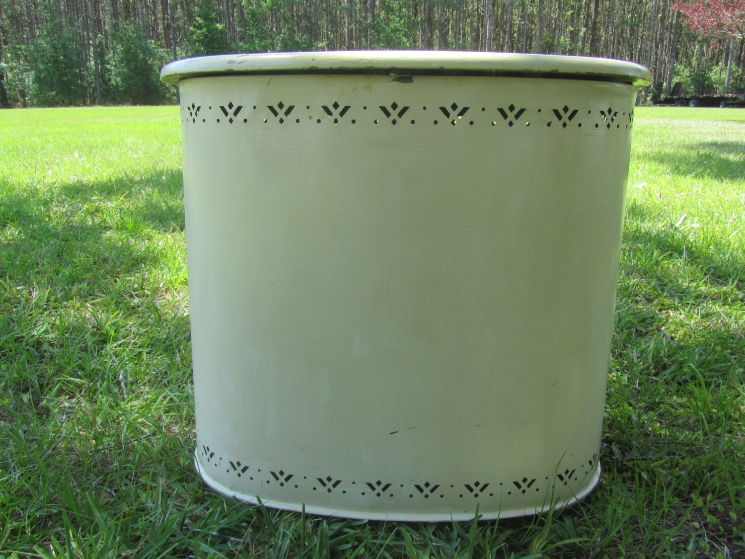 Vintage Clothes Hamper Laundry Hamper Container With Lid