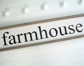 Farmhouse Sign . Farmhouse Decor . Farmhouse Kitchen . Fixer Upper . 30 x 7 . Modern Country . Kitchen Sign . Farmhouse . Framed Sign