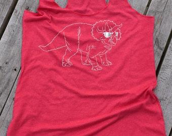 Triceratops Tank, Dinosaur, Dino Shirt