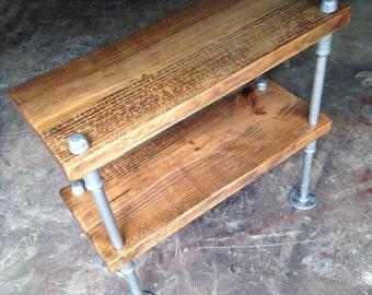 Industrial bookshelf - Freestanding shelf - Rustic bookshelf - Industrial Bookcase - Bookshelves - Shelving - Standalone shelving - Shelf