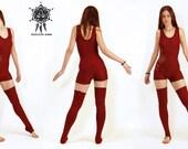 Short bodysuit, Yoga body suit, onesie, aerial costume, aerial suit, yoga wear, Pole dance, pixie onesie, sacred geometry