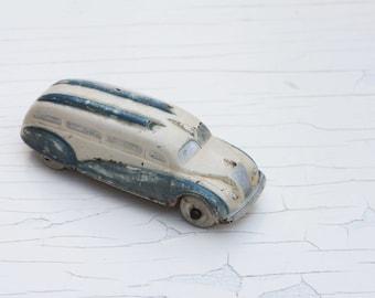 Antique Sun Rubber Company Toy Bus, Model Car, Vintage Toy, Passenger Bus