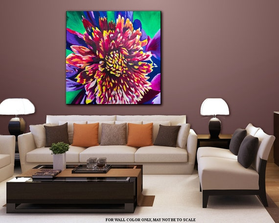 Https Www Etsy Com Listing 267584775 Wall Art Painting Contemporary Home