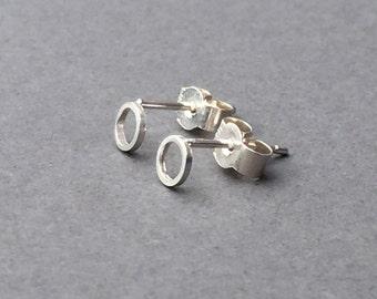 Mini Circle Earrings
