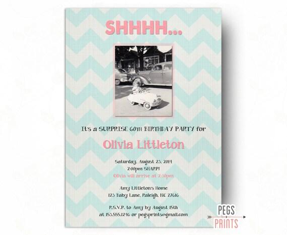 Foto de invitaciones de fiesta cumplea os sorpresa sorpresa - Como preparar una fiesta de cumpleanos sorpresa ...