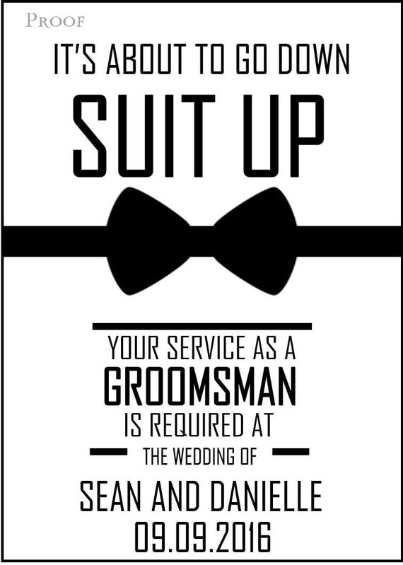 will you be my groomsman printable invite for your boys. Black Bedroom Furniture Sets. Home Design Ideas