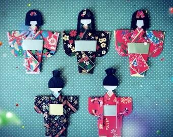 Origami Japanese Doll