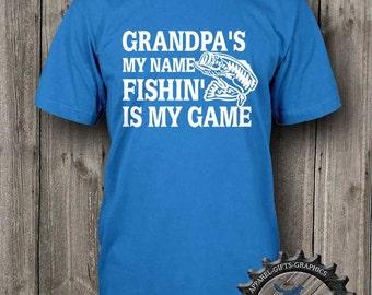 Fishing Shirt,Gift for Grandpa,Fisherman shirt,Fishing,Mens tShirt,Fishing clothing tshirt,Fishing Gifts,BFC_111_T