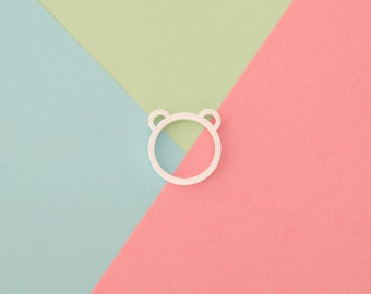 Polar Bear Acrylic Ring