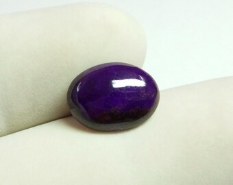 3.40 ct Sugilite Cabochon 13x10x3mm - Superb Quality Sugilite Oval Cabochon Amazing high grade Sugilite