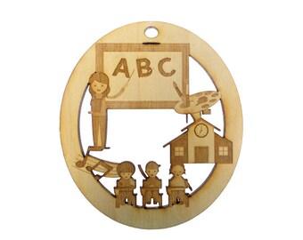Kindergarten Ornament - Kindergarten Gift - Kindergarten Ornaments - Kindergarten Teacher Gift - Personalized Free