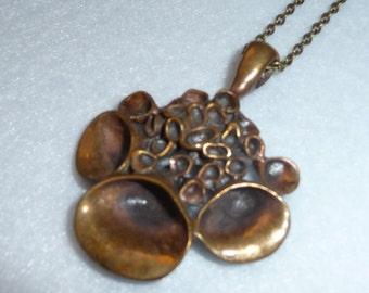 Pendant. Hannu Ikonen (Finland). Bronze. Vintage.