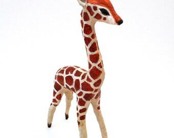 SALE Giraffe sculpture