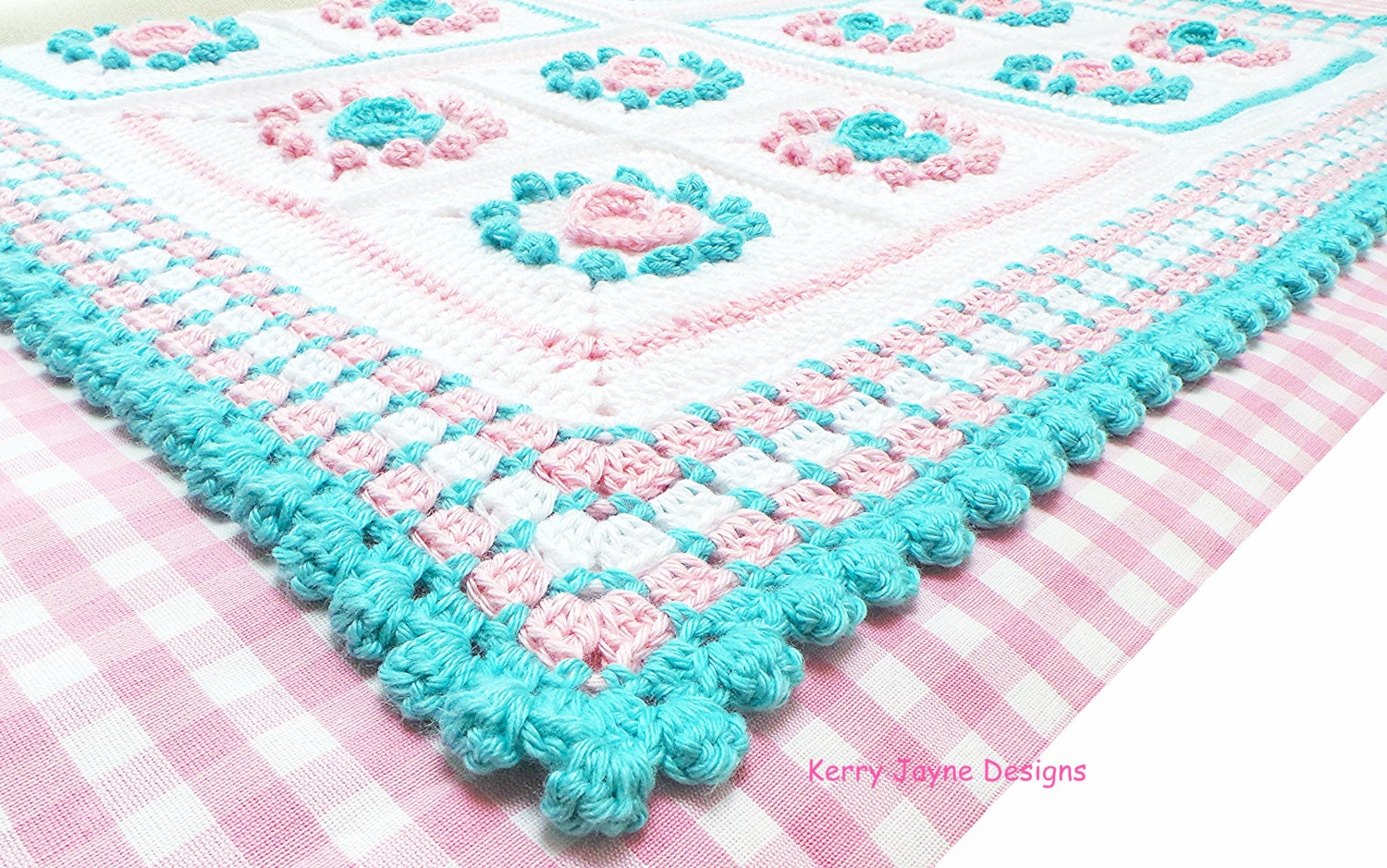 Crochet pattern halo heart crochet blanket pattern baby zoom bankloansurffo Images