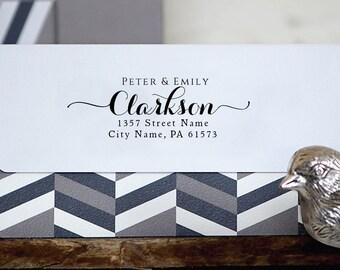 Personalized Address Stamp - Custom Stamp - Self Inking Stamp - Custom Rubber Stamp - Personalized Return Address Stamp RE787