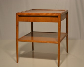Side Table with Drawer by T.H. Robsjohn-Gibbings for Widdicomb