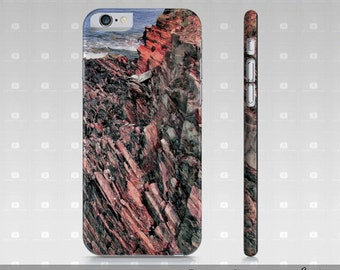 Photo iPhone 6 Case, Cliff Photo iPhone 6 Case, Photo iPhone Cases For iPhone 6/6S, Seascape Cliff Photo iPhone 6 Cover, Nature iPhone Case