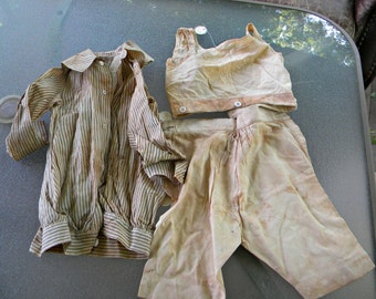 1890 to 1910 Antique Children's Clothing Lot