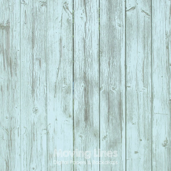 Light blue wood digital weathered backdrop grunge wallpaper for Printable flooring
