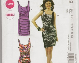 McCall's Closely Fitted Dress Pattern
