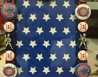 Chicago Cubs Button Picture frame
