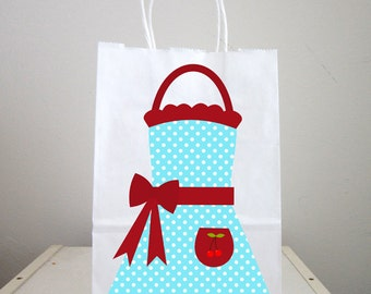 Apron Goody Bags, Cooking Party Goody Bags