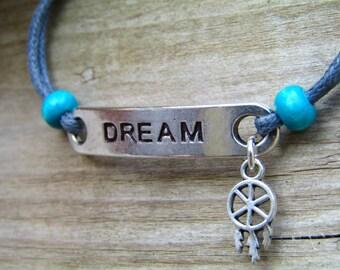 Dream bracelet dreamcatcher bracelet Bohemian Bracelet - boho bracelet tribal bracelet native bracelet native american