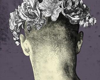 Jacob- Digitally Coloured Monoprint/ Monotype
