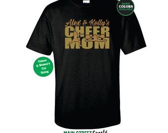 CHEER MOM Shirt. Cheerleading Mom. Cheerleading Shirt. Cheerleader Shirt. Cheer Shirt. Cheer Dad. Cheer Grandpa. Cheer Grandma. Cheer Sister