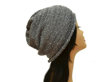 gray knit beanie woman summer hat cotton beanie hat Summer Beanie gifts ideas mens hat fashion beanie adult hat gray beanie
