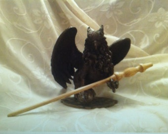Ash Magick Wand - Crafted During Solstice/Full Moon