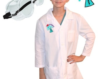 Childrens lab coat | Etsy