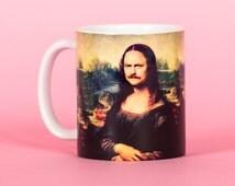 Ron Swanson Nick Offerman funny mug, gifts for him, meme mug, unique mug, office mug, housewarming gift, gifts for her 4P006A