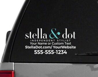 SALE- Stella & Dot Custom Vehicle Decal- Dual Color