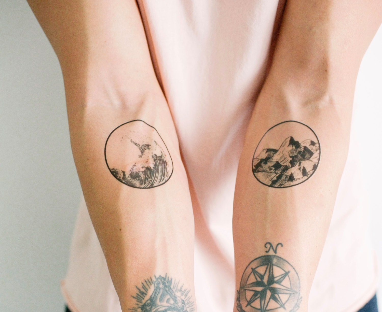 2 Nature Temporary Tattoos SmashTat