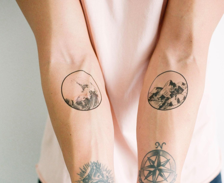 2 nature temporary tattoos smashtat for How to use temporary tattoos