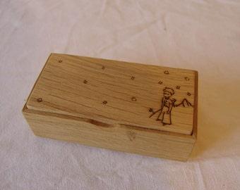 Organizer in box Oak