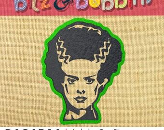 Bride of Frankenstein - Machine Embroidery Design