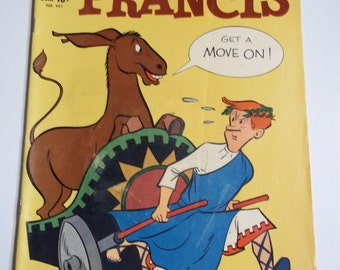 Dell Comics Francis No 991 May - July 1959 Vintage Four Color Comic Book VG