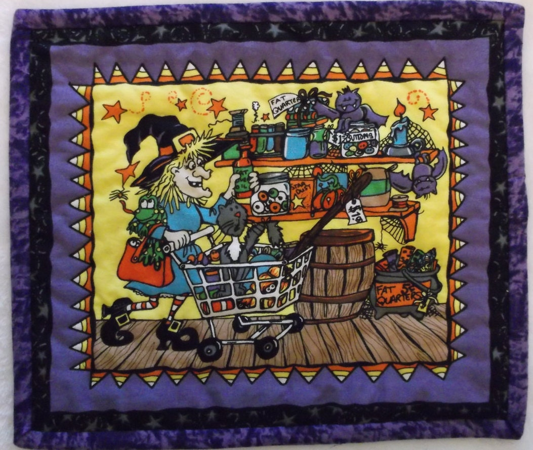 Halloween Mug Rug Which Witch Collection
