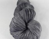 Don't Blink: 437 yards 70/20/10 Merino/Silk/Cashmere fingering weight yarn in Opulence yarn base.