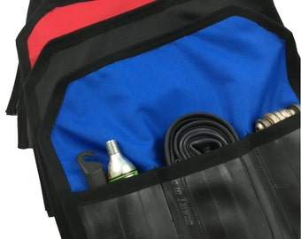 Toob Roll tool roll for road/fixed bike - upcycled innertubes
